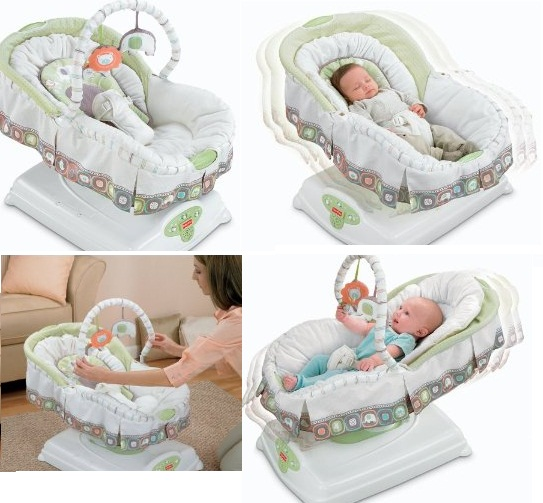 10 Fisher Price I Glide Cradle N Swing