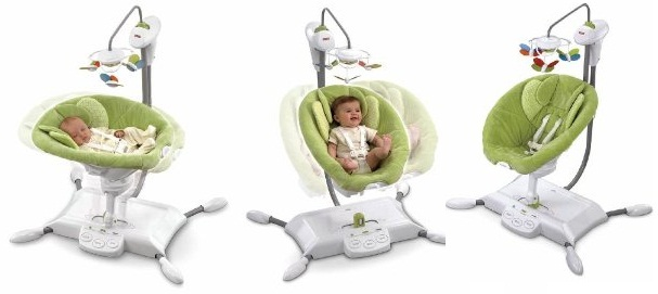 11. Fisher-PriceZen Collection Gliding Bassinet